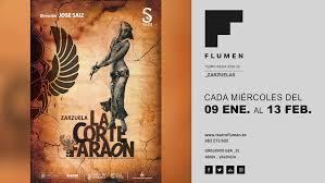 """ZARZUELA : """"La Corte del Faraón"""""""
